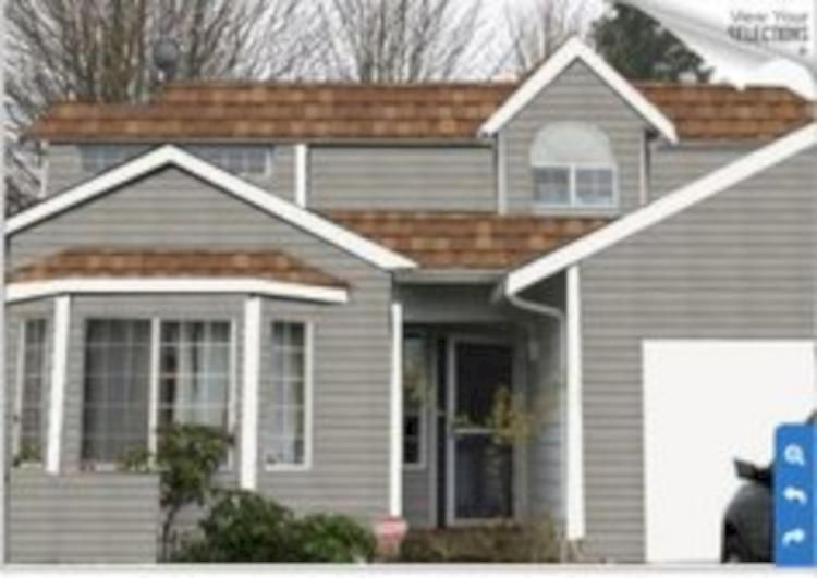 Exterior paint colors for house with brown roof 27
