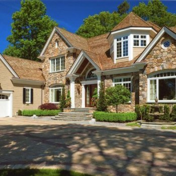 Exterior paint colors for house with brown roof 30