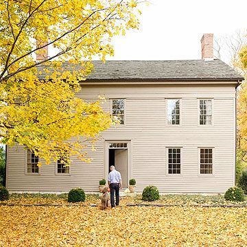 Exterior paint colors for house with brown roof 42