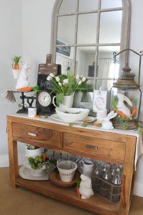 Awesome decor ideas to transition your home for springtime 17