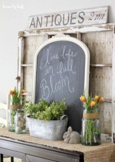 Awesome decor ideas to transition your home for springtime 37
