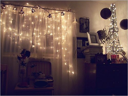 Awesome string light ideas for bedroom 17