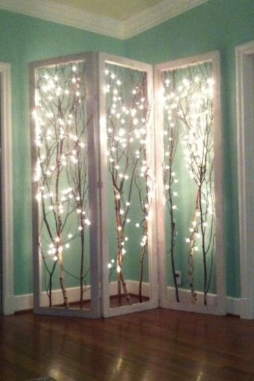 Awesome string light ideas for bedroom 39
