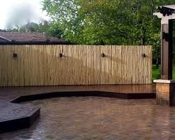 Bamboo fence ideas for small houses 17
