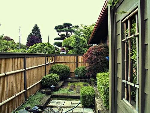 Bamboo fence ideas for small houses 32