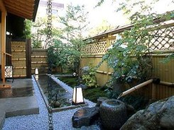 Bamboo fence ideas for small houses 36