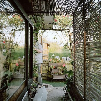 Bamboo fence ideas for small houses 46