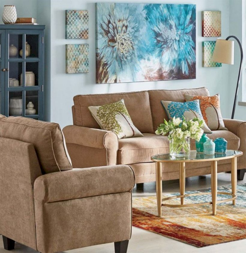 Beautiful modern style to upgrade your living room 14