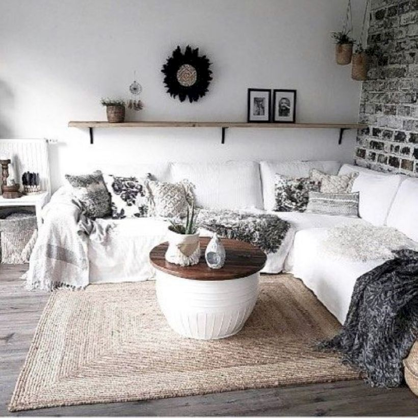 Beautiful modern style to upgrade your living room 15