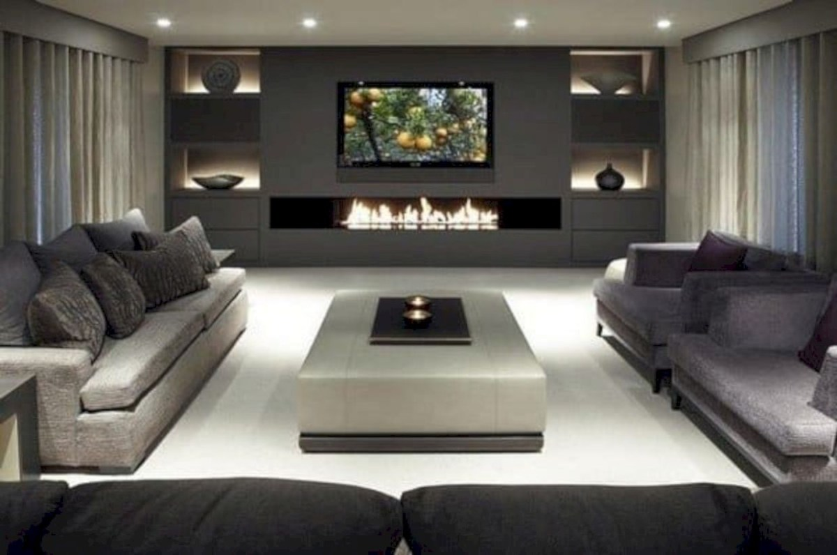 Beautiful modern style to upgrade your living room 29