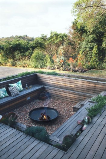 Best fire pit ideas for your backyard 44