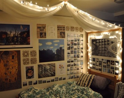 Creative dorm decoration ideas for your bedroom 15
