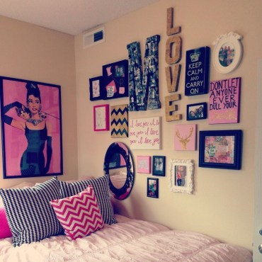 Creative dorm decoration ideas for your bedroom 41