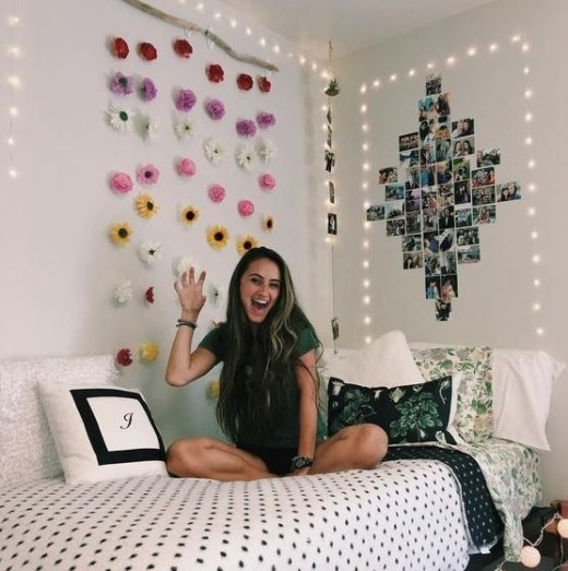 Creative dorm decoration ideas for your bedroom 45