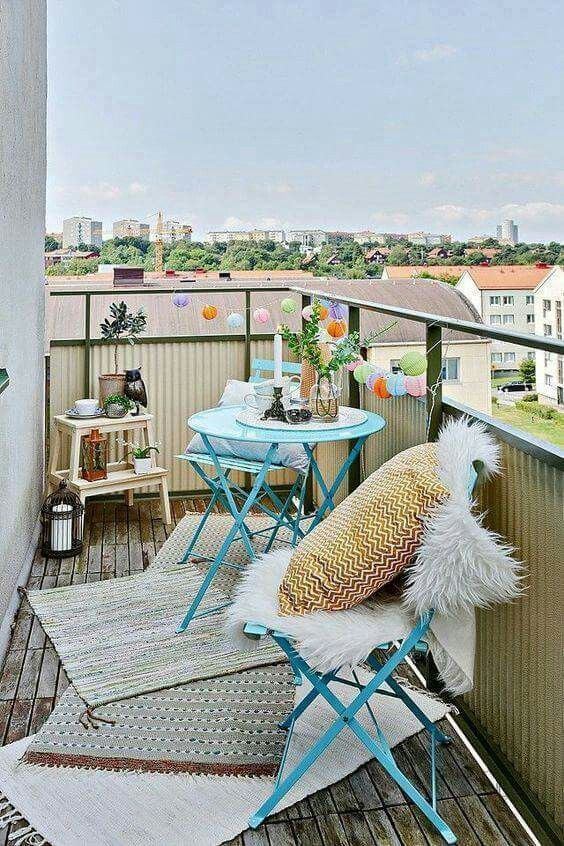 Creative small balcony design ideas for spring 09