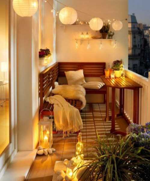 Creative small balcony design ideas for spring 21