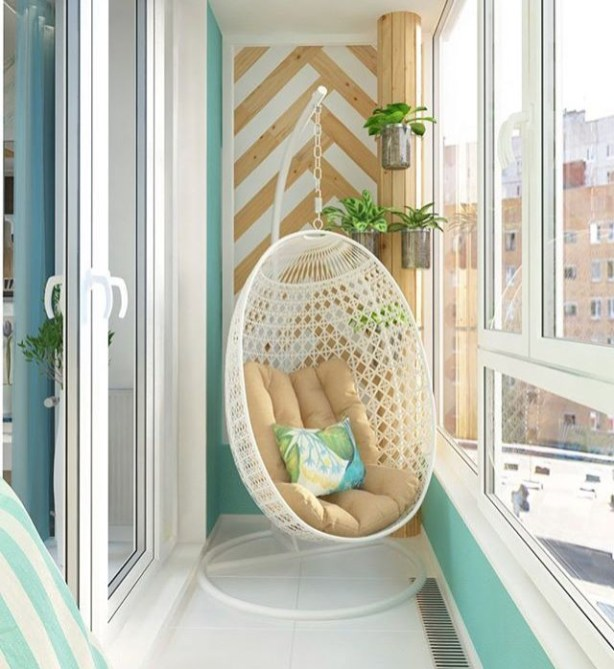 Creative small balcony design ideas for spring 32