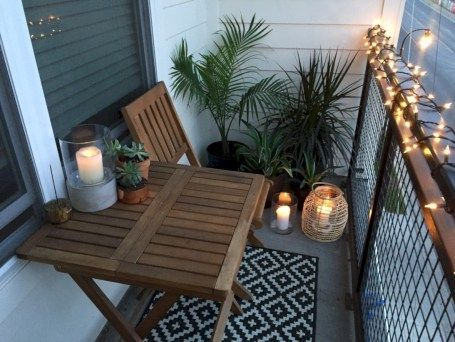 Creative small balcony design ideas for spring 45