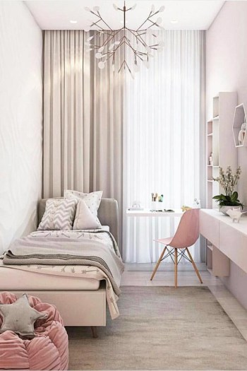 Cute girls bedroom ideas for small rooms 38