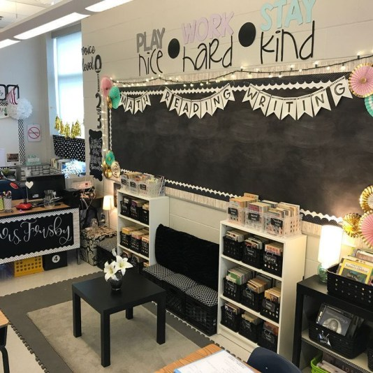 Gorgeous classroom design ideas for back to school 29