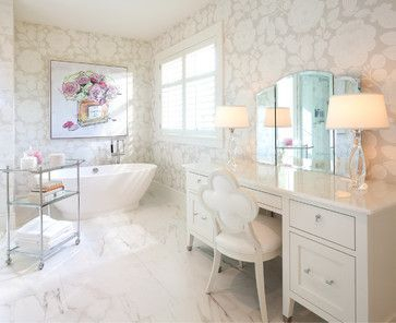 Luxury traditional bathroom design ideas for your classy room 05