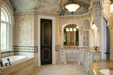 Luxury traditional bathroom design ideas for your classy room 14