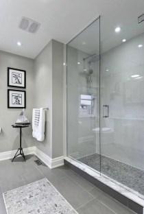 Rustic farmhouse bathroom ideas with shower 07