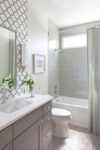 Rustic farmhouse bathroom ideas with shower 101