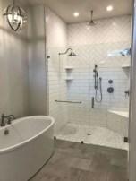 Rustic farmhouse bathroom ideas with shower 102
