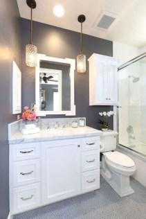 Rustic farmhouse bathroom ideas with shower 110