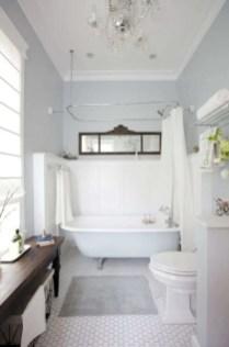 Rustic farmhouse bathroom ideas with shower 112