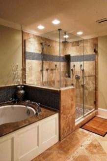 Rustic farmhouse bathroom ideas with shower 50