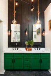 Rustic farmhouse bathroom ideas with shower 67
