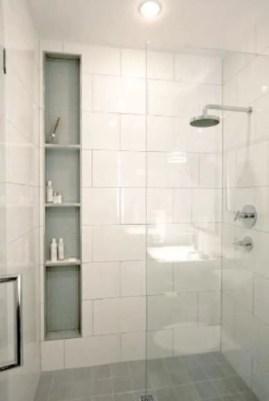 Rustic farmhouse bathroom ideas with shower 68