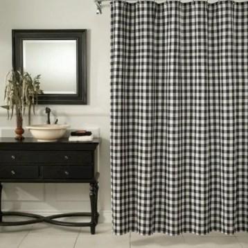 Rustic farmhouse bathroom ideas with shower 88