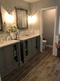 Rustic farmhouse bathroom ideas with shower 94