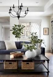 Rustic modern farmhouse living room decor ideas 01