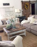 Rustic modern farmhouse living room decor ideas 101