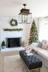 Rustic modern farmhouse living room decor ideas 32
