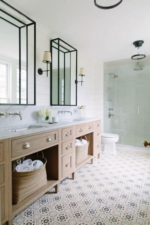 Unique attic bathroom design ideas for your private haven 01