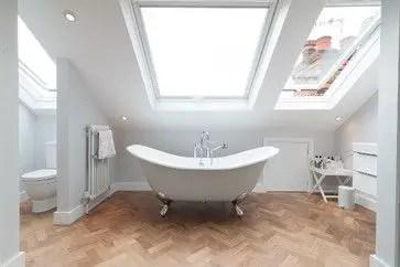 Unique attic bathroom design ideas for your private haven 19