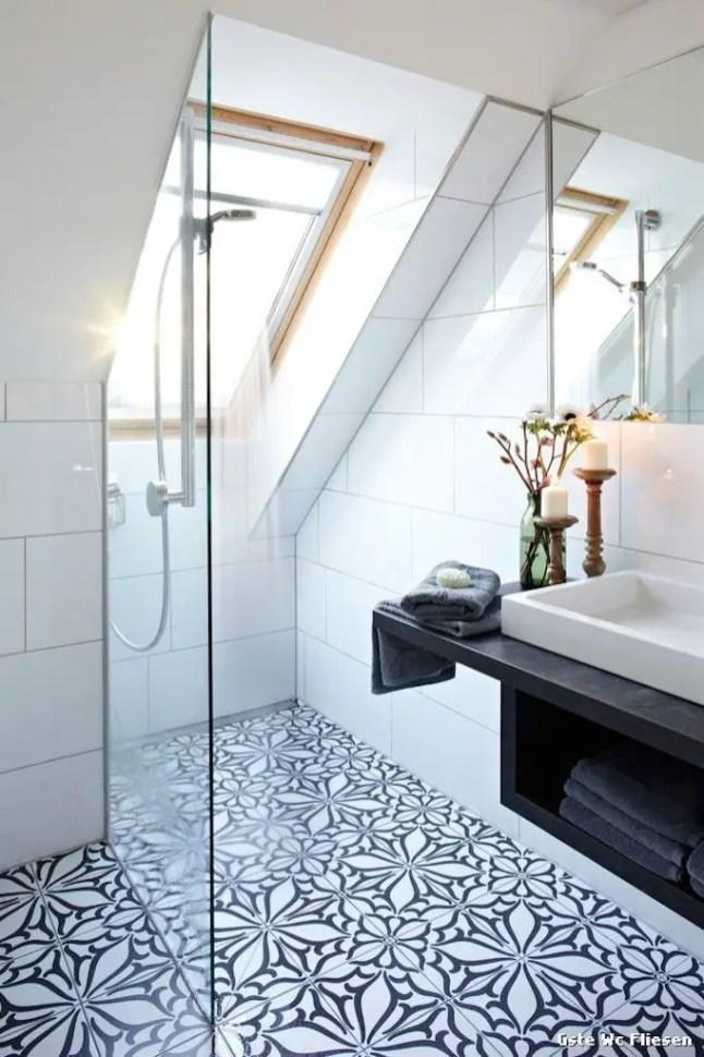 Unique attic bathroom design ideas for your private haven 26