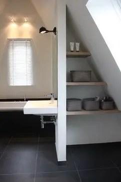 Unique attic bathroom design ideas for your private haven 49