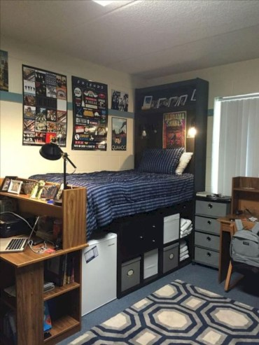 Unique dorm room ideas that you need to copy 22