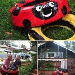 Best creativity backyard projects to surprise your kids 22