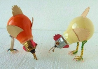 Bright ideas to recycle old light blubs 43
