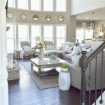 Adorable and cozy neutral living room design ideas 23