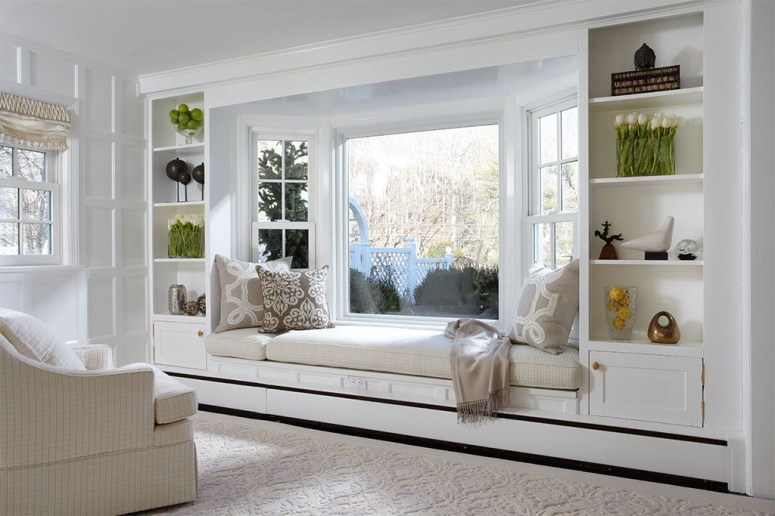 Bay window ideas that blend well with modern interior design 25