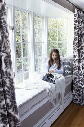 Bay window ideas that blend well with modern interior design 33