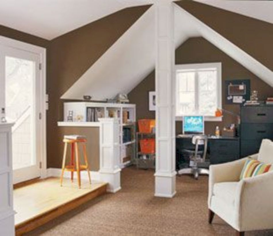Best attic makeover ideas to inspire you 13